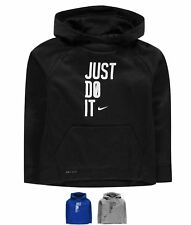 MODA Nike Badge Sweatshirt Junior Boys D.Grey Heather