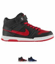 FASHION Nike Mogan 2 Mid Hi Trainers Junior Boys Anthracite/Red