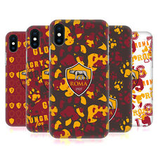 OFFICIAL AS ROMA 2017/18 PATTERNS HARD BACK CASE FOR APPLE iPHONE PHONES