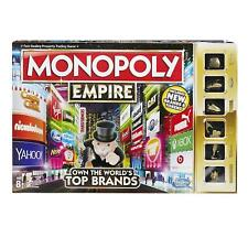 Monopoly Board Game Fun Family 2-8 Players Challenge Game Jackpot/Empire