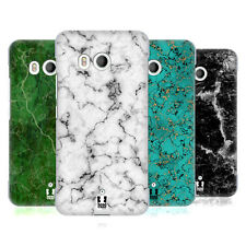 HEAD CASE DESIGNS MARBLE PRINTS HARD BACK CASE FOR HTC U11 / DUAL
