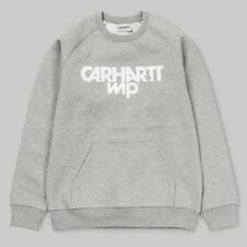 Felpa Carhartt Shatter Sweatshirt Grey Heather