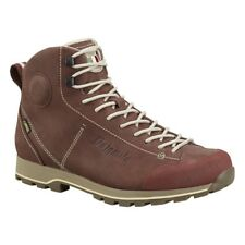 DOLOMITE 54 HIGH FG GTX CHOCOLATE BROWN SCARPE PELLE CINQUANTAQUATTRO HG GORETEX