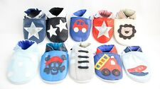 Shoozies Soft Leather Baby Shoes for Boys 0-6 6-12 12-18 18-24 months