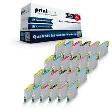 24 x cartucce inchiostro compatibili per Epson Stylus Photo P50 set-drucker
