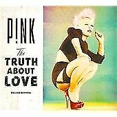 P!NK THE TRUTH ABOUT LOVE CD DELUXE EDITION 2 DISC BONUS TRY TRUE LOVE PINK