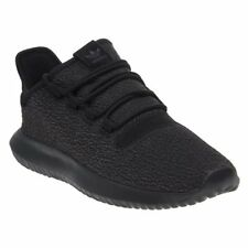 New Mens adidas Black Tubular Shadow Textile Trainers Running Style Lace Up