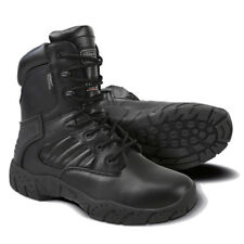 TACTICAL PRO BOOT FULL LEATHER COMBAT PATROL BLACK CADET SWAT ARMY NEW THERMAL