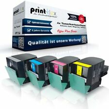 4x alternativo CARTUCCIA TONER PER LEXMARK C540 colore SET XL - Office Plus