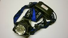 HEAD TORCH 6000Lm T6 Zoomable CREE XML LED Rechargeable Headlamp Headlight 18650