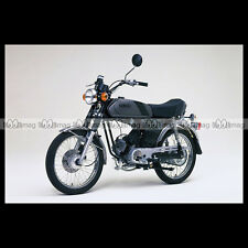 #phm.36740 Photo YAMAHA FS-1 DX FIZZY (FS1 50 DX) 1980 CLASSIC MOPED Moto