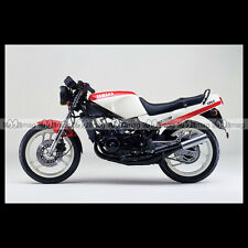 #phm.30107 Photo YAMAHA RZ 250 R 1987 SPORT BIKE Moto Motorcycle