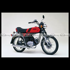 #phm.36744 Photo YAMAHA FS-1 DX FIZZY (FS1 50 DX) 1980 CLASSIC MOPED Moto