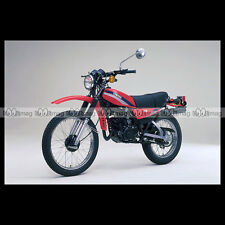 #phm.36835 Photo YAMAHA DT 125 MX (DTMX) 1980 Moto Motorcycle