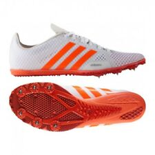 Womens adidas Adizero Ambition 3 Running Metal Spikes Track Field Shoes  White 8ca8a7cc7499a