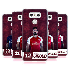 OFFICIAL ARSENAL FC 2017/18 FIRST TEAM GROUP 1 SOFT GEL CASE FOR LG PHONES 1