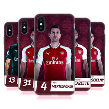ARSENAL FC 2017/18 PRIMA SQUADRA GRUPPO 2 CASE IN GEL PER APPLE iPHONE TELEFONI