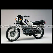 #phm.31293 Photo YAMAHA RX 135 KING 1985 Moto Motorcycle