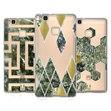 HEAD CASE DESIGNS CLASSY STONE PRINTS SOFT GEL CASE FOR HUAWEI P9 LITE G9 LITE