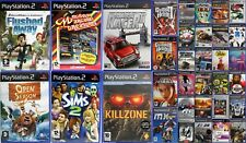 PlayStation 2 Video Games Your Choice Racing Action RPG Sports Racing War Arcade