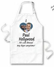 I Love (Heart) Paul Hollywood APRON cook cooks cooking cookery baking kitchen