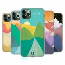 HEAD CASE DESIGNS COLOURFUL MOUNTAINS SOFT GEL CASE FOR APPLE iPHONE PHONES