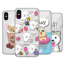 HEAD CASE DESIGNS LIL PUPPIES SOFT GEL CASE FOR APPLE iPHONE PHONES