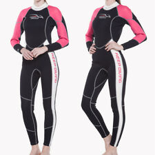 3mm Neoprene Women Dive Surf Full Body Wetsuit Stretchy Warm & Comfortable