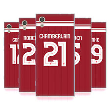 LIVERPOOL FC LFC GIOCATORI HOME KIT 17/18 2 CASE IN GEL PER SONY TELEFONI 1