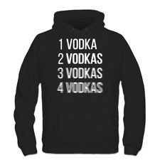 Sudadera con capucha One Vodka Two Vodkas Drunk
