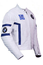 BMW Motorbike Leather Jacket Mens Racing Motorcycle Leather Jackets All-Size