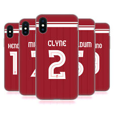 LIVERPOOL FC LFC PLAYERS HOME KIT 17/18 GROUP 1 GEL CASE FOR APPLE iPHONE PHONES