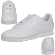Puma Roma Basic Baskets / Chaussures Homme Blanc 353572 21