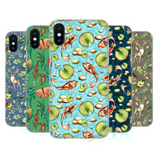 OFFICIAL JULIA BADEEVA  ANIMAL PATTERNS 2 HARD BACK CASE FOR APPLE iPHONE PHONES
