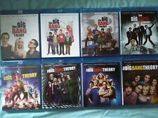 The big bang theory. Blu ray. Temporadas sueltas 1 2 3 4 5 6 7 8