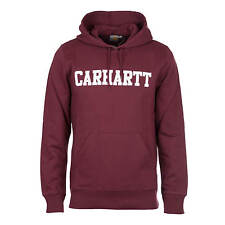 Carhartt Hooded College Sweat Chianti-Hombre College HOODIE AUS French Terry