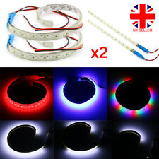 2x Sequential Motorcycle Car Rider LED Light Strips Neon Signal Flexible UK L4U