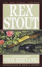 Where There's a Will (Nero Wolfe Mysteries) (Rex Stout Library) by Stout, Rex