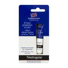 Neutrogena 6hour Protection Lip Balm for Dry, Chapped Lips 15ml (Buy 1,2,3 or 6)