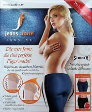 JEANS IN FORM Jeggins Jeggings 2er PACCO BLU+NERO