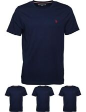 FASHION U.S. POLO ASSN. Mens Legacy T-Shirt Medieval Blue Small Chest 36-38""