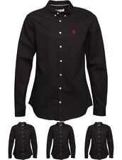 FASHION U.S. POLO ASSN. Mens Utah Shirt Black Small Chest 36-38""