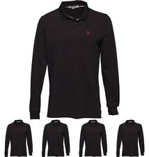 FASHION U.S. POLO ASSN. Mens Toby Polo Black Small Chest 36-38""
