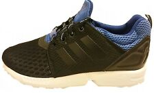 Adidas Niños ZX FLUX NPS UPDT Originals Zapatillas Negras / Azul Real s82706 GB