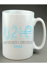 U2 EXPERIENCE + INNOCENCE WORLD TOUR 10oz CERAMIC MUG BONO ROCK