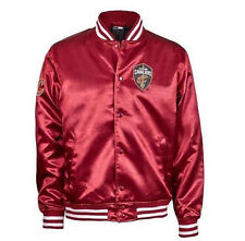 NEW ERA TIP OFF SATEEN BOMBER NBA CLEVELAND CAVALIERS, BORDEAUX, INVERNO, UOMO