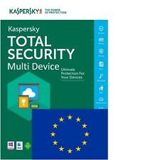 Kaspersky Total Security MultiDevice 2018 (1, 2, 3, 5, 10 dispositivos) 1 año