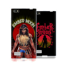 UFFICIALE WWE EMBER MOON COVER MORBIDA IN GEL PER BLACKBERRY TELEFONI