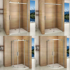 1950mm Frameless Sliding/Quadrant Shower Enclosure Walk in Glass Door Screen