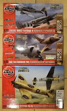 AIRFIX DOGFIGHT DOUBLES FOCKE WULF HAWKER TYPHOON HARRIER SKYHAWK SPITFIRE MESS
